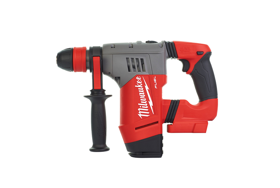 M18 Fuel High Performance Sds Plus Hammer Drill on brushless motor for battery powered drill